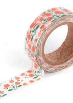 Washi tape - Rose garden