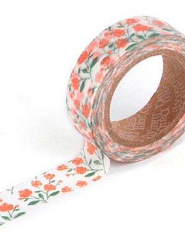 Washi tape - Rose garden