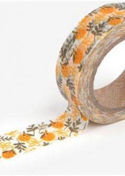 Washi tape - Tangerine