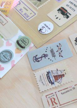 Set Vintage Stamps