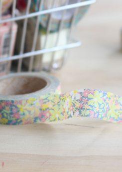 Washi tape - A tiny flower Dreamlike