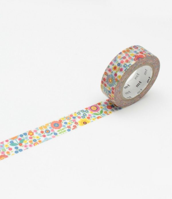 MT Masking tape - Mini Flower Garden