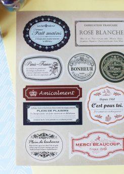 Sellos Etiquetas Vintage