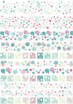 Pegatinas Little Hannah - Colección Confetti