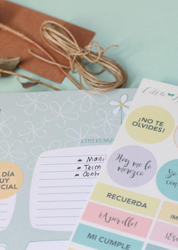 Pegatinas Little Hannah - Colección Planner