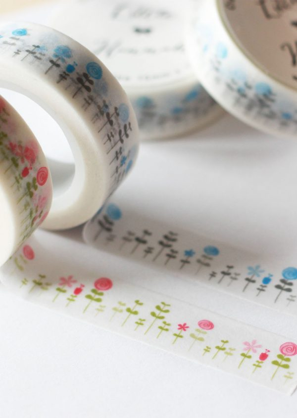 Combo dos washi tapes Little Hannah - Bosque Hana