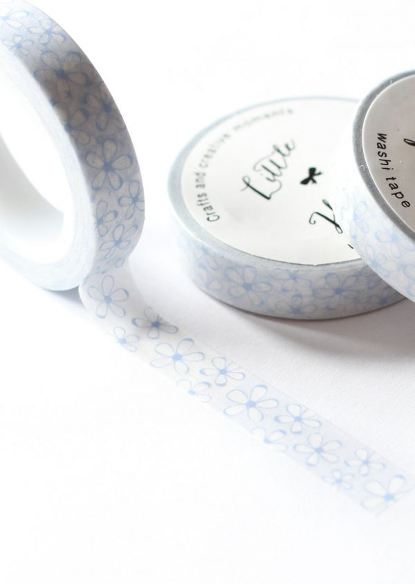 Washi tape Little Hannah - Margaritas Azules