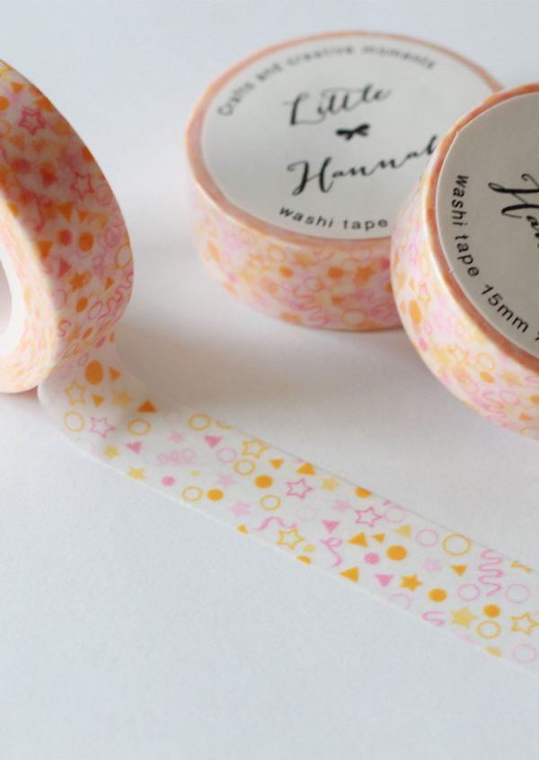 Washi tape Little Hannah - Confetti Pastel