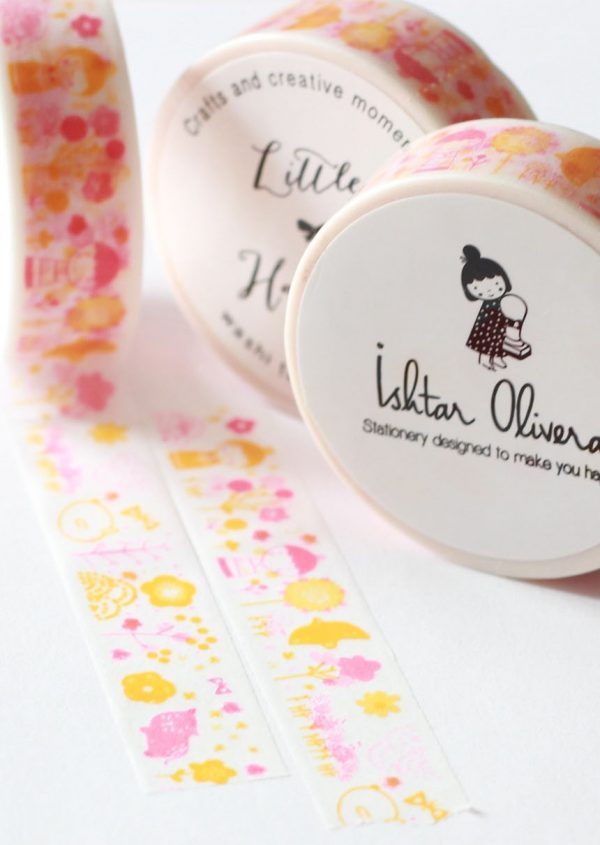 Washi tape Little Hannah - Aki (Otoño), de Ishtar Olivera