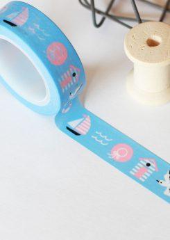 Washi tape Charuca - Marinero