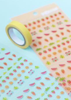 Set Crea tus washi tapes - Naranja