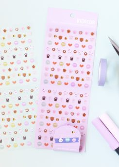 Set Crea tus washi tapes - Morado