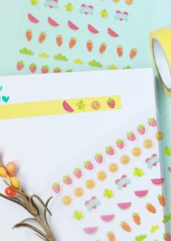 Set Crea tus washi tapes - Verde