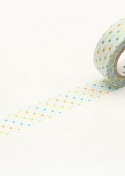 MT Masking tape - Hasen dot green