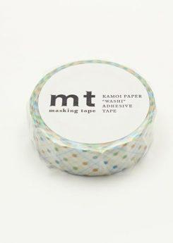 MT Masking tape - Hasen dot green