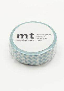 MT Masking tape - Net check - Blue