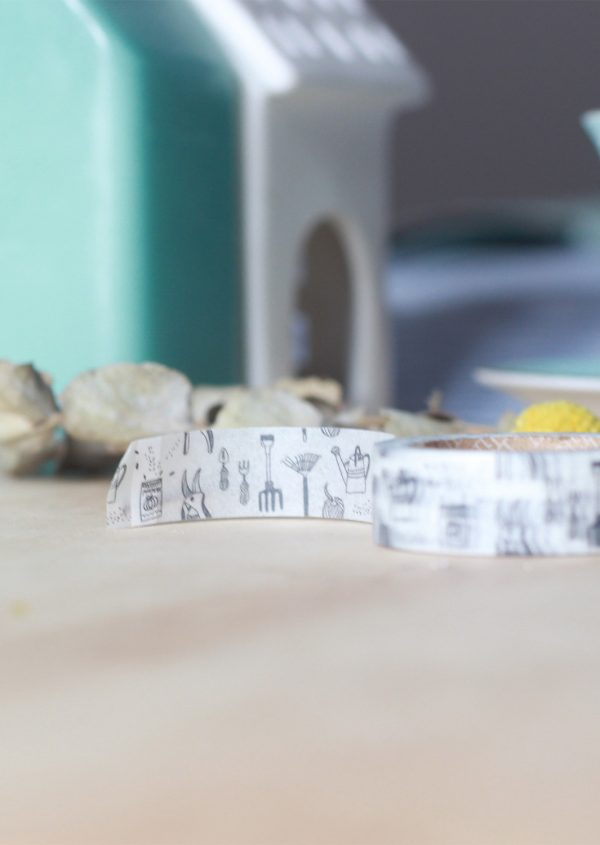 Washi tape Dailylike - Gardening