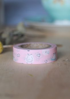 Washi tape Dailylike - Hippo