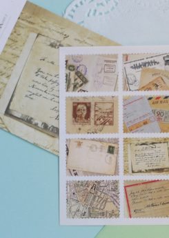 Sellos adhesivos Dailylike - Vintage letter