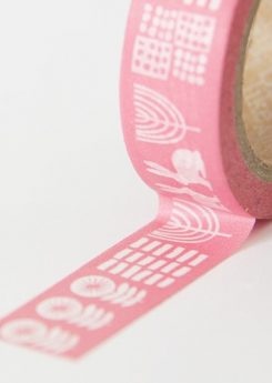Washi tape - Pink alley
