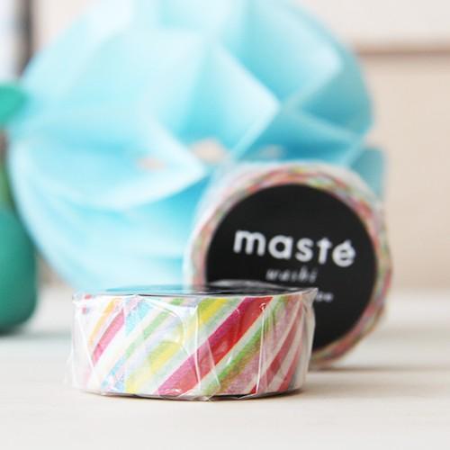 Washi tape Masté - Colorful stripes