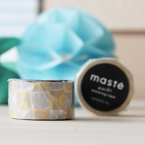 Washi tape - Colored tile Yellow