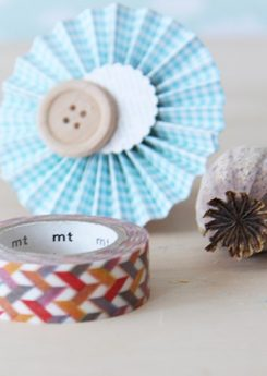 Washi tape MT - Slash red