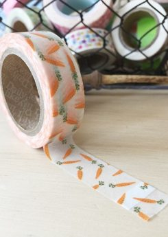 Washi tape - Carrot