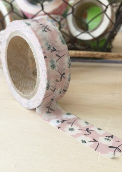 Washi tape - Soft flower