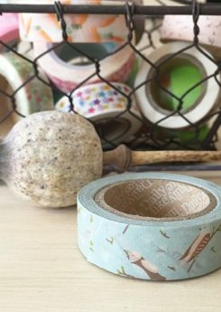 Washi tape - Cozy bird