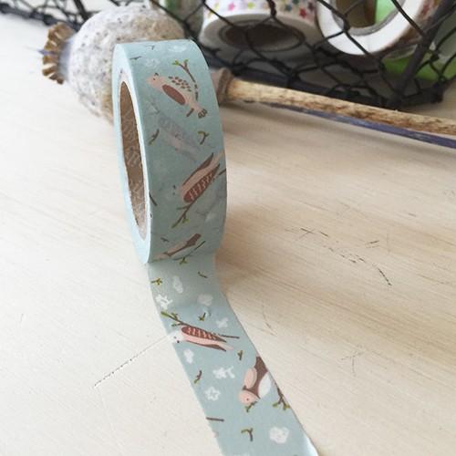 Washi tape - Cozy bird