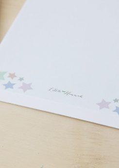 Bloc de notas - Estrellas de colores