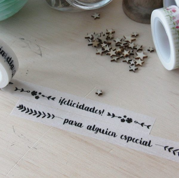 Washi Tape Little Hannah - ¡Felicidades!