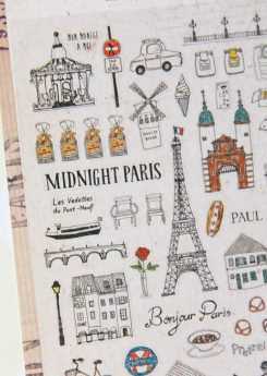 Pegatinas Midnight in Paris