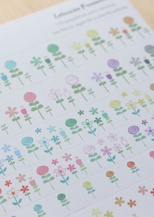 Pegatinas Little Hannah - Colección Primavera