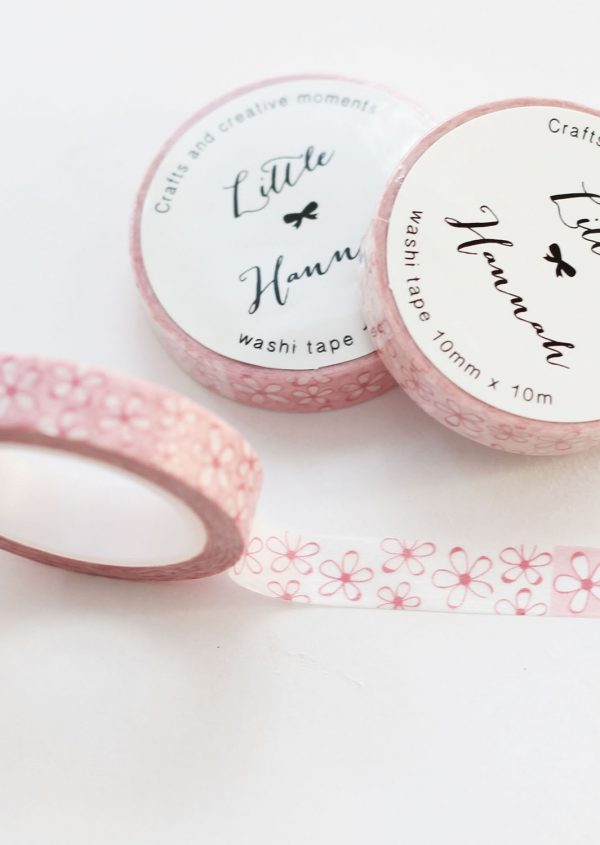Washi tape Little Hannah - Margaritas Mint