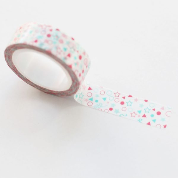 Washi tape Little Hannah - Confetti
