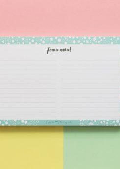 Bloc de notas - Confetti Pastel