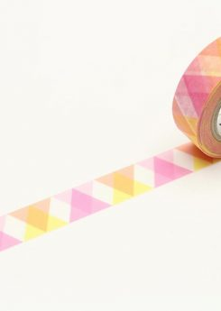 MT Masking tape - Triangle and diamond - PInk