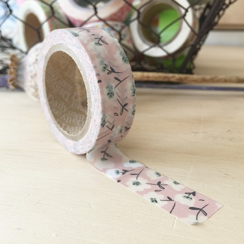 Washi tape - Soft flower